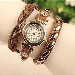Women's Fashion Leather Chained Japanese Quartz Watch(Assorted Colors)