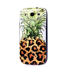 Pineapple Pattern Thin Hard Case Cover for Samsung Galaxy S3 I9300