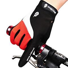 West biking Activiteit/Sport Handschoenen Heren Unisex Fietshandschoenen Herfst Winter WielrenhandschoenenHoud Warm waterdicht Winddicht