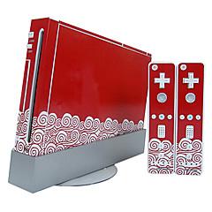 Nieuwigheid - Plastic Sticker - voor Nintendo Wii -
