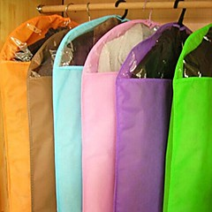 Candy Color Dust-proof Transparent Clothes Storage Bags(Random Color)(85*60CM)