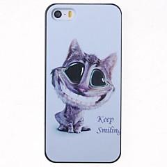 il caso del modello di nuovo fumetto sorriso del gatto per il iphone 5 / 5s