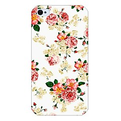Rose Pattern Back Case for iPhone 4/4S