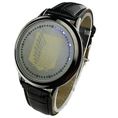 Herre Kjoleur Digital LED PU Band Sort / Brun Brand-
