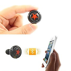 Bluetooth V3.0 In-Ear Stereo  Headphone With MIC  for 6/5/5S Samsung S4/5 HTC LG and Others (Assorted Colors)