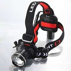 LT-74756 5Mode CREE XM-L T6 Rechargeable Zoomable Headlamp(1600LM.1X18650.Back)