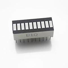 """0.3 """"light 10 pezzi rosso ha condotto il modulo di visualizzazione di potenza del tubo nixie audio per arduino"""