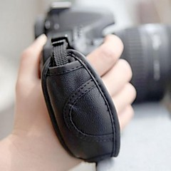 Universal Genuine Leather Strap for Canon Nikon / Pentax / Sony / Panasonic / Fuji Cameras