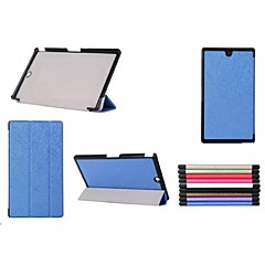 소니 엑스 페리아 Z3 태블릿 컴팩트 (모듬 색상) 8 인치 트리플 접이식 패턴 고품질 PU 가죽 케이스