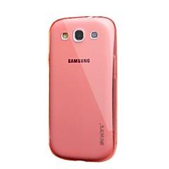 leiers ™ tunn is TPU Fodral transparent bakstycket TPU klar mjuk väska för Samsung Galaxy S3 / i 9300 (diverse färg)