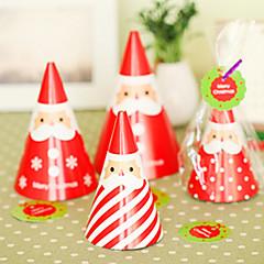 debout bricolage carte de Noël de Santa (4pcs)