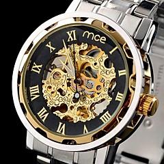 Конференции мужские часы автоматического механические часы золотые полые гравировка