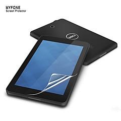 høy klar skjermbeskytter for Dell Venue 7 7 tommers tablet beskyttende film