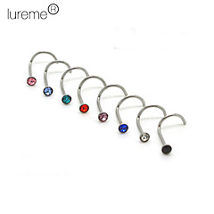 Body Piercing Jewellery Unisex's Nose Piercing Nose Rings & Studs Body Jewelry(Random Color)