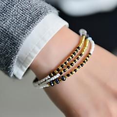 Fashion Women 3 Rows Seedbeads Bracelet