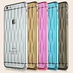 toophone® Joyland ultradunne transparante veiligheid gasbag rugdekking cases voor iPhone 6 (assorti kleur)
