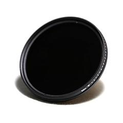 lightdow 62mm minces filtres ND curseurs nd2 réglable variable Nd400 e verre optique de filtre de densité neutre
