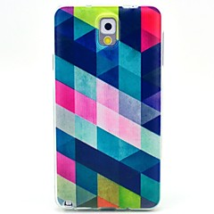 Για Samsung Galaxy Note Με σχέδια tok Πίσω Κάλυμμα tok Γεωμετρικά σχήματα TPU Samsung Note 3
