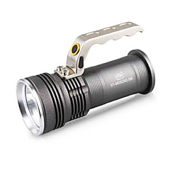 TwoBoys ST-3405 Rechargeable 3-Mode 1x Cree 8W LED Flashlight(500LM, 2x18650, Black)