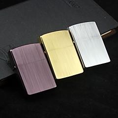 zorro huile verticale de la coque de cuivre en métal brossé léger (plus de couleur)