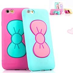 papillon noeud support étui souple pour iPhone 5 / 5s (couleurs assorties)