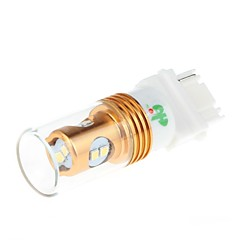 HJ  3156  8W 400lm 6000-6500K 8*SMD 2323  LED  Bulb for Car Steering / Reversing Lamp White Light(12-24V)