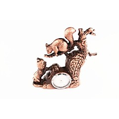 The Little Squirrel Electronic Metal Creative Lighter Brown Personality