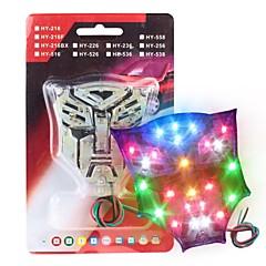 Merdia 2.5w 80lm 28smd transformadores de luz LED de freno del coche de luz RGB de la lámpara / luz de reserva (par / 12v)