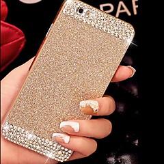 Bling luxo sólido brilho caso tampa traseira com diamante para iphone 5 / 5s (cores sortidas)