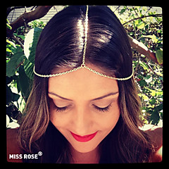 Miss ROSE®Punk Metal Chain Headband