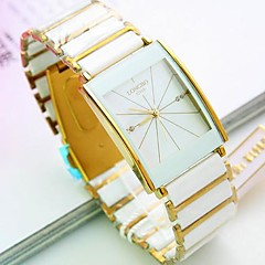 Men's Square Dial Steel Band Quartz Fashion Watch (Assorted Colors) Cool Watches Unique Watches