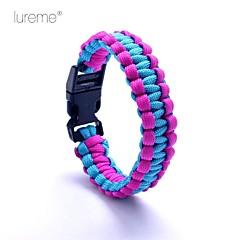 Lureme® Paracord Survival Cord Double-Deck Bracelet