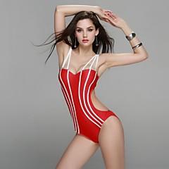 2015 New Women Fashion One Piece Bandeau Swimwear Slim Spandex Fabric