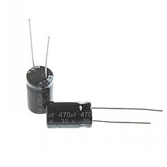 Electrolytic Capacitor  470UF 35V (20pcs)