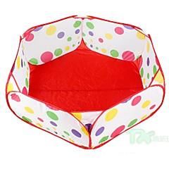 buiten kinderbad vijfhoekige ballenbad speelgoed