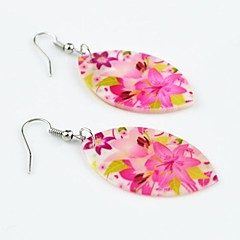 Earring Flower Drop Earrings Jewelry Women Wedding / Party / Daily Cowry