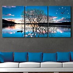 е-Home® отражение в сутки деревья в полотняных 3шт