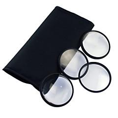 58mm Filtre Macro Set avec sac en cuir PU (+1, +2, +3, +4)