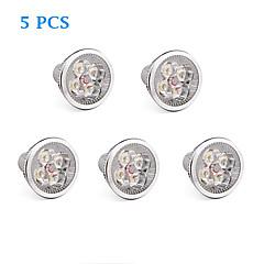 4W GU10 Ampoules à Filament LED 4 LED Haute Puissance 360 lm Blanc Chaud / Blanc Froid AC 85-265 V 5 pièces