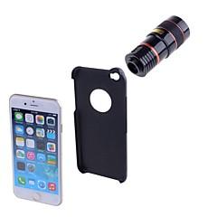 ABS Obiektyw rybie oko Obiektyw z dużą ogniskową Obiektyw szerokokątny 8X Obiektyw z etui iPhone 6