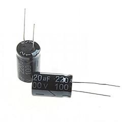 Electrolytic Capacitor  220UF 100V (10pcs)