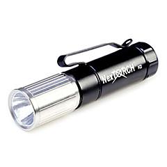 NEXTORCH k2 5-mode 1x cree ledde zooma ledde ficklampa (7-65lm, 1xAA, svart)