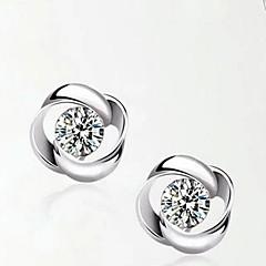 Dames Kubieke Zirkonia Kostuum juwelen Sterling zilver Sieraden Voor