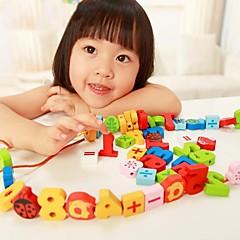 benho farge nummer perler tre utdannings leketøy perler