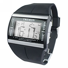 herenhorloge sport multifunctionele lcd digitale kalender