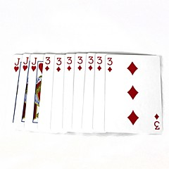 magiske poker magiske rekvisitter - flerfarget (10 stk)