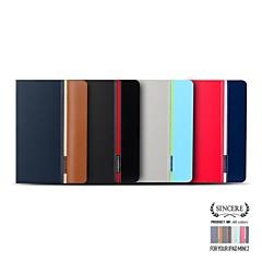 torros® ylellinen premium-suunnittelu seistä pu nahkainen hihna ja tarra iPad MINI2 / iPad Mini (valikoituja värejä)