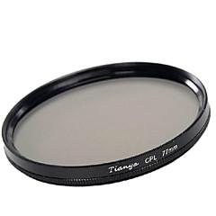 tianya® 77mm CPL filtro polarizador circular para Canon 24-105 24-70 i 17-40 Nikon 18-300 lente