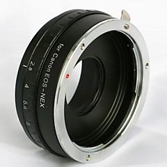 säädettävä aukko Canon EOS EF-objektiivi Sony NEX-3 NEX-5 NEX-7 e mount sovitin