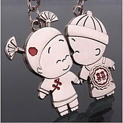 couple romantique mariage trousseau de clés pour le jour de valentine amant (une paire)
